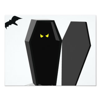 Spooky Coffin Card