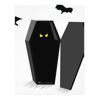 Spooky Coffin Flyer