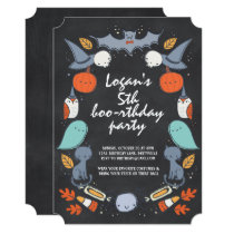 Spooky Costume Birthday Party Invitation