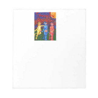 Spooky Cows Notepad