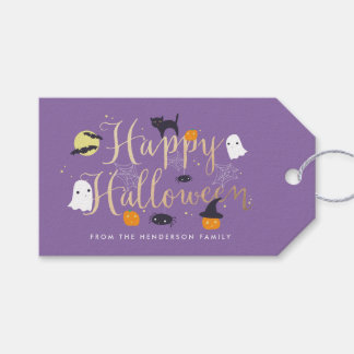 Spooky Critters Halloween Gift Tags