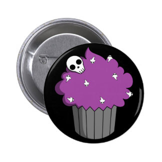 Spooky Cupcake Button