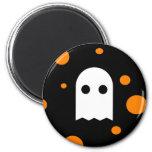 Spooky Cute Ghost Halloween Fridge Magnet