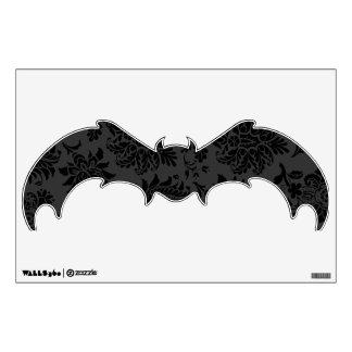 Spooky Damask Bat Wall Sticker
