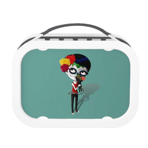 Spooky Dia de Los Muertos Girl
