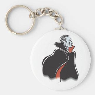 spooky dracula vampire keychain