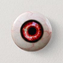 Spooky Eye - Halloween Button