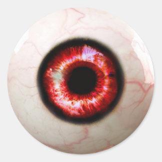 Spooky Eye - Halloween Classic Round Sticker
