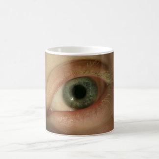 Spooky Eye Watching You Magic Mug