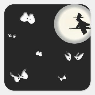 Spooky Eyes Halloween Sticker