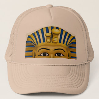 Spooky eyes of King Tut Mask Costume Hat