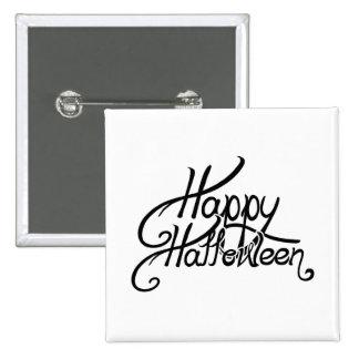 Spooky Festive Happy Halloween Buttons
