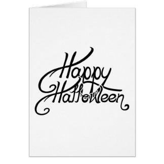 Spooky Festive Happy Halloween Card