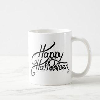 Spooky Festive Happy Halloween Classic White Coffee Mug