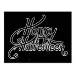 Spooky Festive Happy Halloween Postcard