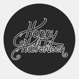 Spooky Festive Happy Halloween Stickers