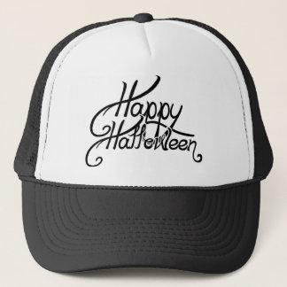 Spooky Festive Happy Halloween Trucker Hat