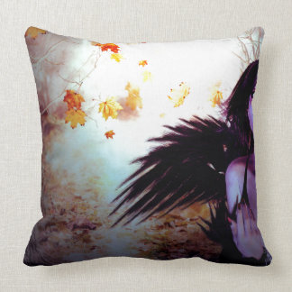 Spooky Forest and Dark Witch2 Throw Pillow