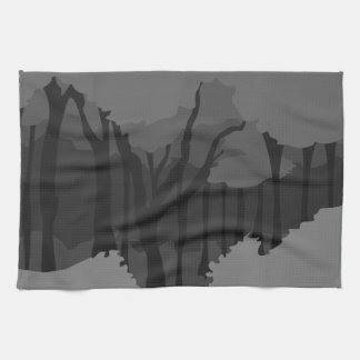 Spooky Forest Hand Towel