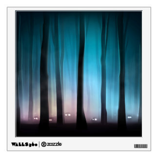 Spooky Forest Monsters Wall Decal