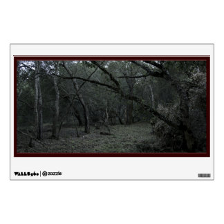 Spooky Forest Window Wall Decal
