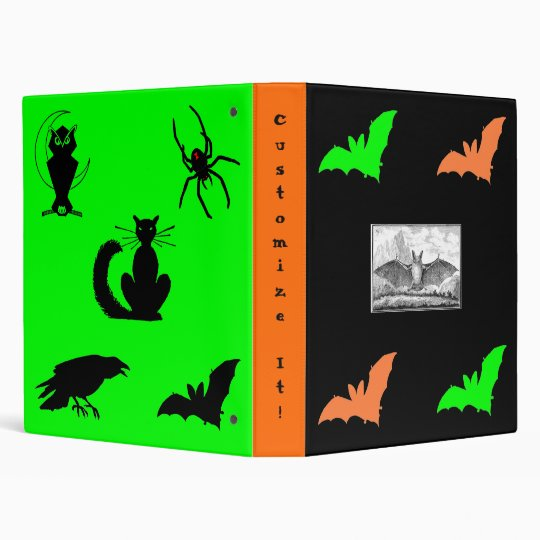 Spooky Fun! 3 Ring Binder
