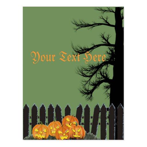 Spooky gateway post cards