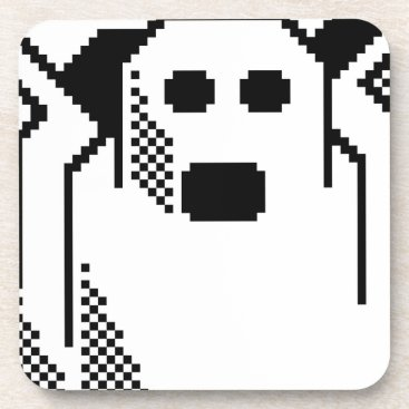 Halloween Themed Spooky Ghost Beverage Coaster