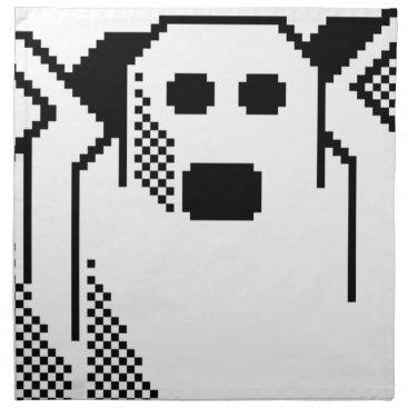 Halloween Themed Spooky Ghost Cloth Napkin