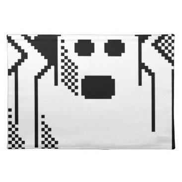 Halloween Themed Spooky Ghost Cloth Placemat