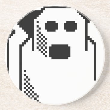 Halloween Themed Spooky Ghost Coaster