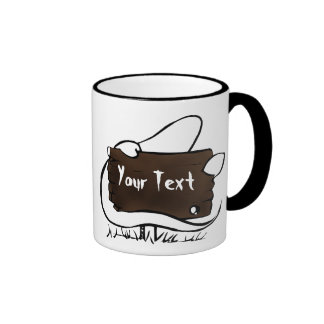 spooky ghost coffee mug