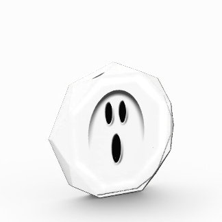 Spooky Ghost Face Halloween Costume Party Prize Award