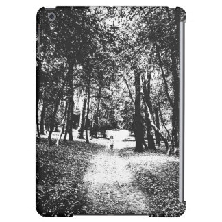 Spooky ghost girl in the woods iPad tablet case Case For iPad Air