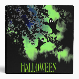 Spooky Ghost Halloween Binder