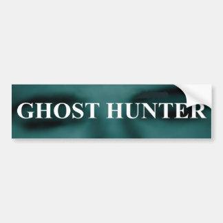 Spooky Ghost Hunter Bumper Sticker Car Bumper Sticker