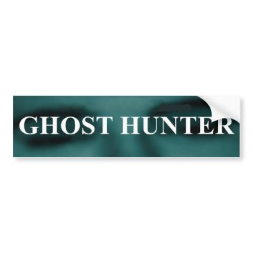 Grey_Goblin Spooky Ghost Hunter Bumper Sticker
