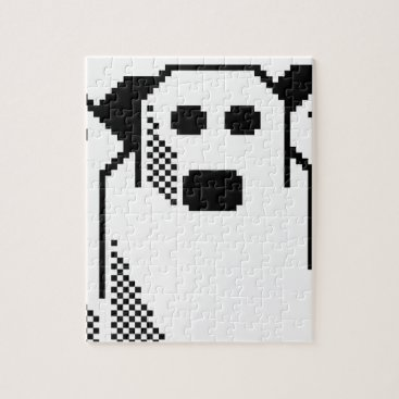 Halloween Themed Spooky Ghost Jigsaw Puzzle