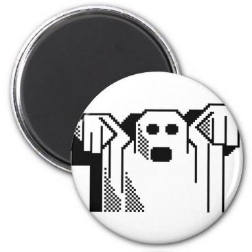 Spooky Ghost Magnet
