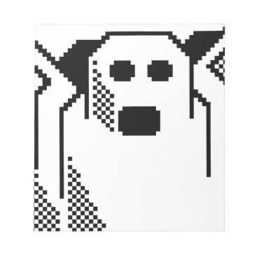 Halloween Themed Spooky Ghost Notepad