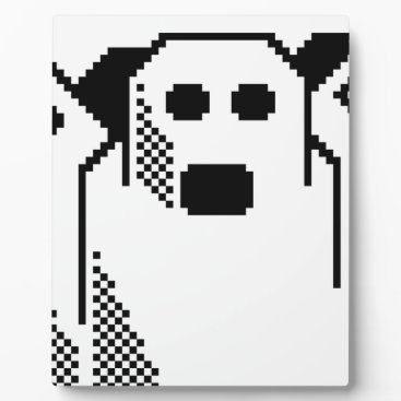 Halloween Themed Spooky Ghost Plaque