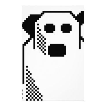 Halloween Themed Spooky Ghost Stationery