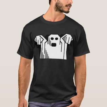 Halloween Themed Spooky Ghost T-Shirt