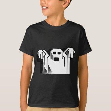 Halloween Themed Spooky Ghost T-Shirt