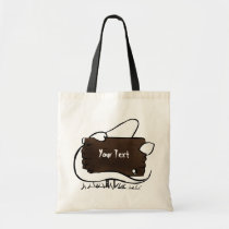 spooky ghost tote bag