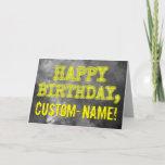 "[ Thumbnail: Spooky Glowing Aura Look ""Happy Birthday"" + Name Card ]"