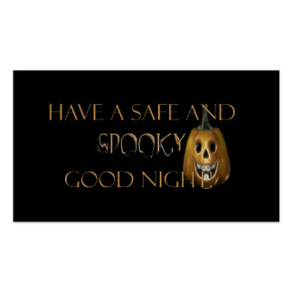 Spooky Good Night Business Card