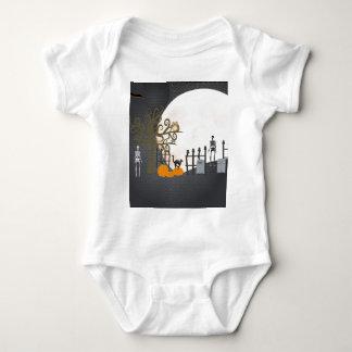 Spooky Graveyard Baby Bodysuit