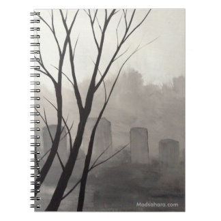 Spooky Graveyard Notebook