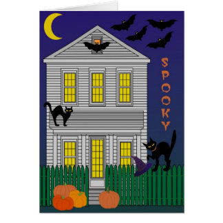Spooky Greeting Card